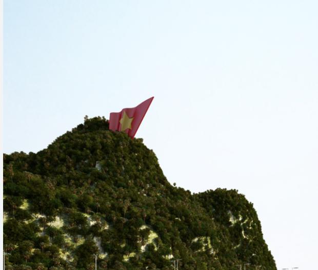 Hạ Long nghiên cứu lắp thang máy lên đỉnh núi Bài Thơ - Ảnh 3.